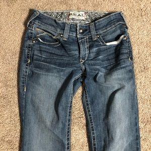 Ariat Real Denim 27L Not Cut Jeans